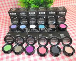 Wholesale Makeup Sombra - 12PCS eye makeup fard a paupieres ombretto lidschatten sombra de ojos36 color eyeshadow 1.5g free shipping