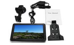 Wholesale Touch Screen Car Media Player - 7 inch Truck Car GPS Navigation Navigator Win CE Media Tek MT3351C Touch Screen 800 x 480 Multi-media Player with Free Maps