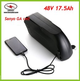 Wholesale Used Motors - 48V 17AH Electric Bicycle lithium Battery Pack For 1000W 1500W Motor Bikes Free Customs US RU EU use in GA Li Ion Cells