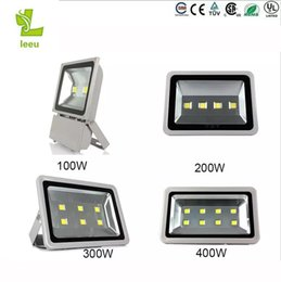 Wholesale High Powered Led Floodlight - 2017 new 100W 200W 300W 400W Led Floodlights High Power Outdoor flood light Led Gas Station Lighting Waterproof Led Canopy Lights AC 85-265V