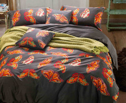 Wholesale Top Selling Bedding Sets - Top Fashion Promotion 4 Pcs Bed Cover 2017 Best Selling American Style High Quality Fancy 4 Pieces Duvet Cover Sets Full Size Bedding