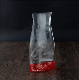 Wholesale Transparent Flower Vases - Plastic Folding Garden Pot Hot Pressing PVC Creative Flower Arrangement Transparent High Quality Wear Resisting 0 85hs H R
