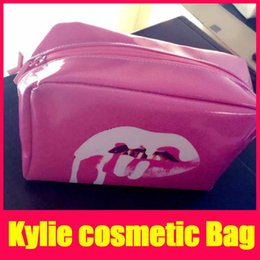 Wholesale Bags Korean Style Wholesaler Factory - New Arrival Kylie Jenner Cosmetics Makeup Organizer Pink Storage Bags Highlighter Make Up Bag Factory Wholesale