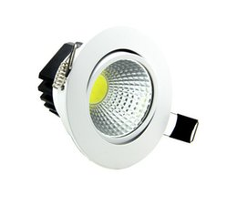 Wholesale Recessed Lighting Prices - Wholesale- Wholesale price Dimmable LED Downlight COB7W 10W 12W 15W Dimming Spot Light Ceiling Recessed Lamp Lighting AC85-265V CE ROHS