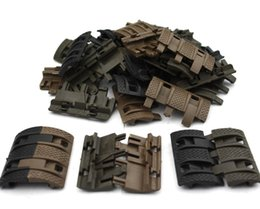 Wholesale Picatinny Handguard - 32 unids 1 Pack Tactical Airsoft panels Picatinny rail Handguard cover Hunting
