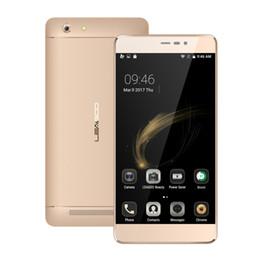 Wholesale Shark Dual Digital - Original Leagoo Shark 5000 MT6580A Quad Core Android 6.0 Mobile Phone 1GB RAM 8GB ROM 5.5 inch 1280*720 5000mAh 13MP Smartphone