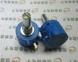 Wholesale 1k Ohm Resistor - Wholesale-1PCS 3590S-2-102L 3590S 1K ohm Precision Multiturn Potentiometer 10 Ring Adjustable Resistor
