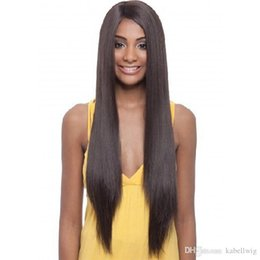 Wholesale Human Hair Braided Wigs - Full Lace Wigs Silk 5.5 * 5.5 Top Cordon Of Brazil Wig Wavelength Body Is Full Of My Hair Braided And Human Babies Virgin Hair 100% KABELL