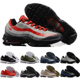 Wholesale Train Cushion - 2017 New Men Casual Shoes Air Cushion 95 ULTRA ESSENTIAL Cheap Original Training Outdoor High Quality Men's Running Shoes Size US 7-12