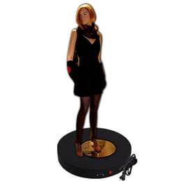 Wholesale Plastic Mannequins - dia40cm, h6cm 50kg Turntable plastic mannequin head Holder Base Display stand