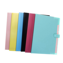 Wholesale Accordion Bag - Wholesale- Overvalue Accordion Design A4 Document Holder A4 Paper Folder Storage Binder Pouch Package Office School Filing Storage Bag