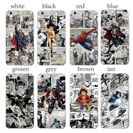 Wholesale Iphone Man Steel Case - Anime Superman Man of Steel for Apple iPhone 4 4S 5 5C SE 6 6S 7 7S Plus Art Online Cover Case