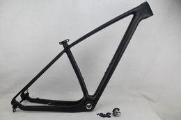 Wholesale Mtb Carbon Frameset - 27.5er mountain bike UD carbon fiber frames 650B MTB bicycle frameset BB68 BB30 available