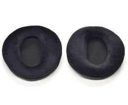 Wholesale Velour Cushions - Velour Earpads cushion Ear pads for SONY PS3 Wireless Stereo CECHYA-0080 95mm headphones parts