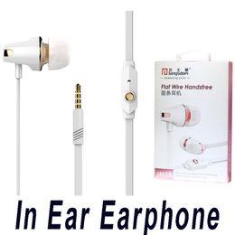 Wholesale Mp3 Roses - Langsdom JM23 In Ear Earphone 3.5mm Noodles Wired Earphone For iPhone Computer MP3 MP4 Universal Earphone