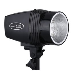 Wholesale Portrait Photography Flash - Wholesale-GODOX Mini Master K-180A monolight 180W Studio Strobe Photo Compact Flash Light Lamp for Portrait Fashion Art Photography