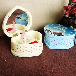 Wholesale Porcelain Dancing - Christmas gift ideas, creative gifts, rotary, music box, little girls dancing 63237 mixed color