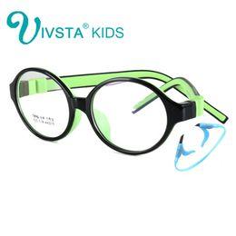 Wholesale Optical Holder - Wholesale- IVSTA 44-15-125 522 TR90 Kids Optical Frame Silicone Children Glasses with Strap retainer holder boys girls prescription