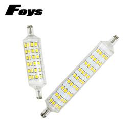 Wholesale Bright Halogen Bulbs - 2017 New R7s led 220V 108LEDS 118mm 72LEDS 78mm 360 degree lampadas SMD2835 led bulb replace halogen lamp high bright spotlight