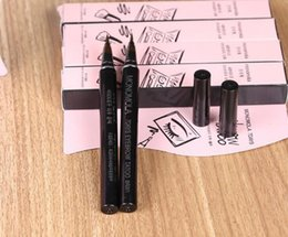 Wholesale Eyebrows Tattoo Pens - Waterproof Brown 7 Days Eye Brow Eyebrow Tattoo Pen Liner Long Lasting Makeup Women Gifts High Quality Eyebrow Liner
