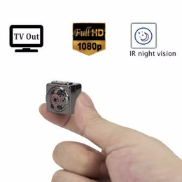 Wholesale Spycam Spy Camera - 1080P Full HD Spy Mini Camera Infrared Night Vision Hidden Nanny Digital Micro Cam Motion Detection Camcordor Recorder Spycam