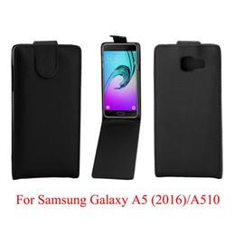 2019 tasca posteriore a5 Custodia in pelle per Samsung Galaxy A510 A510F A5 (2016) Custodia per cellulare in pelle PU tasca posteriore a5 economici