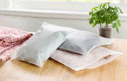 Wholesale Cheap Bedding Bag - Cheap 10PCS LOT 20*28 Transparent receive bag to travel Luggage clothes bag Translucent bag 20 silk thick plastic bags