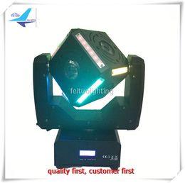 Wholesale Snake Led Lights - 2pcs lot 6x12w rgbw beam + 12x6w 3 in1 wash Snake eye moving head led light