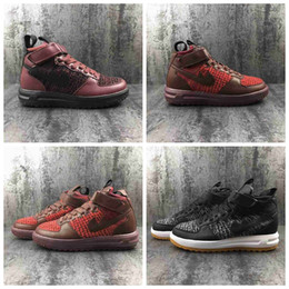 Wholesale Hot Shoe Arm - 2017 Hot Sale Special Field air 1 One Men Women High Boots Casual Shoes Sneakers Unveils Utility Boots Armed Classic