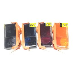 Wholesale Hp 5525 - full ink For HP670 HP 670 HP670XL cartridge HP 670XL deskjet 3525 4615 4625 5525 6525 refillable ink cartridge with chips
