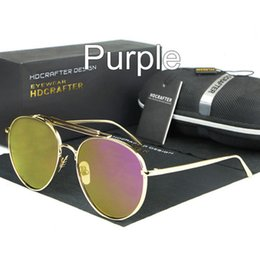 Wholesale Police Shield - sunglasses for women purple for women korea oval face oval face men women case side shields test police china colour glass wholesale fashion