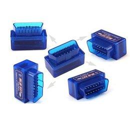 Wholesale Super Mini Pc - Latest Version Support 12 languages Super Mini ELM327 V2.1 Bluetooth OBD2 Scanner elm327 OBD2 diagnostic scanner for Android Torque PC