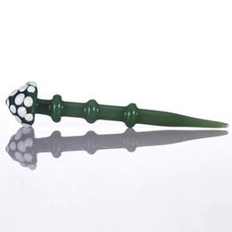 Гвозди китайские онлайн-Стеклянная мазка для кварцевых ногтей использует форму застежки для волос из Китая с высоким содержанием боросиликатного стекла в розницу