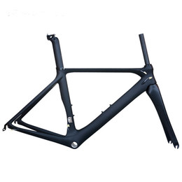 Wholesale 53cm Carbon Road Bike - Carbon Road Bike Frame 2016 Di2 and Mechanical47 50 53 56mm Super Light carbon road Frame+Fork+headset carbon bicycle frame
