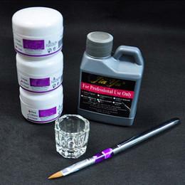 Wholesale Dappen Nail - Powders Liquids UC-124 Art Tools DIY Nail Kit Acrylic Liquid Powder Pen Dappen Dish,Acrylic