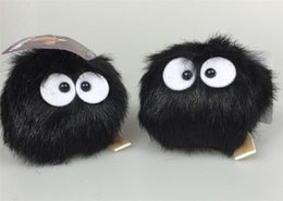 Wholesale Chinchillas Plush Toys - High Quality Cute small pendant totoro plush toys chinchilla Totoro charcoal briquettes dolls for gift free shipping