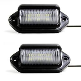 Wholesale Door Step Light - Car LED License Plate Tag Light 12V Side Marker Lights or Convenience Courtesy Door Step Lamp