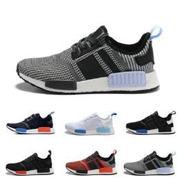 Wholesale Discount Mens Tennis Shoes - 2017 Cheap Online Wholesale NMD R1 Primeknit PK Men's & Women's Sports Outdoors boost,discount mens Athletic snea Athletic Running Shoes