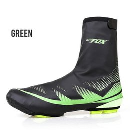 Wholesale waterproof shoes covers - Wholesale Sport MTB Cycling Overshoes Polyester Neoprene Bike Shoes Cover Outdoor Waterproof Anti-wear Shoes Cover New Free Shipping