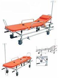Wholesale Aluminum Wheelchairs - 2017 Saferlife Latest Emergency Medical Equipment Aluminum Alloy Wheelchair Ambulance Stretcher For Sale SL-A-2