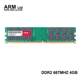 Wholesale Ddr2 667mhz 4gb - ARM Ltd DDR2 4GB 667Mhz 800Mhz For AMD Memory CL5-CL6 1.8V DIMM RAM 800 2G 4GB 800 Only used AM2 Motherboard Lifetime Warranty