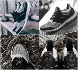 Wholesale social shoes - 2017 New Ultra 3.0 SNS x Social Status x triple black ultra Rainbow Multicolor Sneakers Ultra Primeknit sneakers shoes