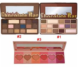 good makeup palettes Promo Codes - Hot makeup eyeshadow Promotional Chocolate Bar Semi-Sweet Eyeshadow Palette 16 Colors Eye Shadow Good Quality