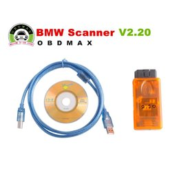Wholesale Dcan Bmw Diagnostic Scanner - 2016 Free Shipping for BMW Scanner V2.20 K+DCAN work with the new chassis for BMW Scanner 2.20 price free shipping