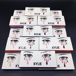 Wholesale Types False Eyelashes - Free Shipping Kylie False Eyelashes 20 Types Eyelash Extensions handmade Fake Lashes Voluminous Fake Eyelashes For Eye Lashes Makeup DH26504