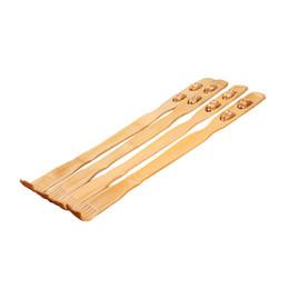Rullo di massaggio all'ingrosso di prurito di legno Prurito di bambù auto massaggiatore Scratcher di legno Bastone di legno Roller Backscratcher Tools 1PC da