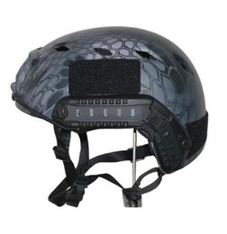 Wholesale Helmets Cross Country - FAST BJ PVS-14 Tactical Camouflage Helmets Airsoft Battle Protection or Outdoor Training Safety Helmets