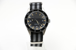 Wholesale Good Mens Watches - Luxury good Quality Mechanical Transparent Watch 41mm Planet Ocean James Bond Spectre 007 Automatic Mens Watch Watches