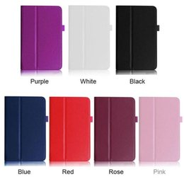 "Wholesale Me173x Case - Wholesale-Simple Stone Folding Folio Leather Stand Case Cover For ASUS MeMO Pad HD 7"" ME173X 0922"