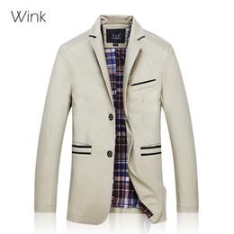 Wholesale Blaser Mens - Wholesale- Mens Blazer Coat Jacket Suit Male Slim Fit 2015 New Arrival Designs Male Menswear Big Size 7XL 8XL Blaser Masculino homens J239